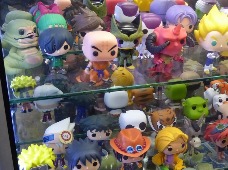 figurine pop manga